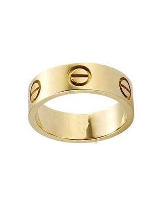 jewels cartier ring jewelry gold gold ring stacking rings