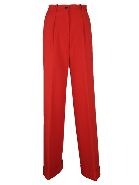 Ermanno Scervino red pants