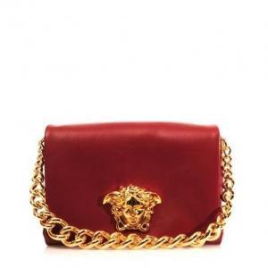 53e9cc6df5 Versace Idol Shoulder Bag - Leather - Sale