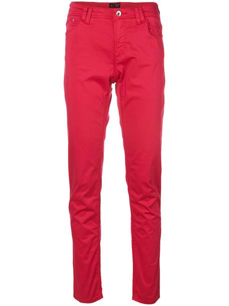 women spandex cotton purple pink pants