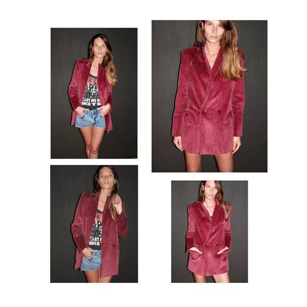 blazer red blazer jacket