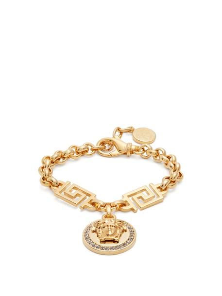 embellished gold jewels