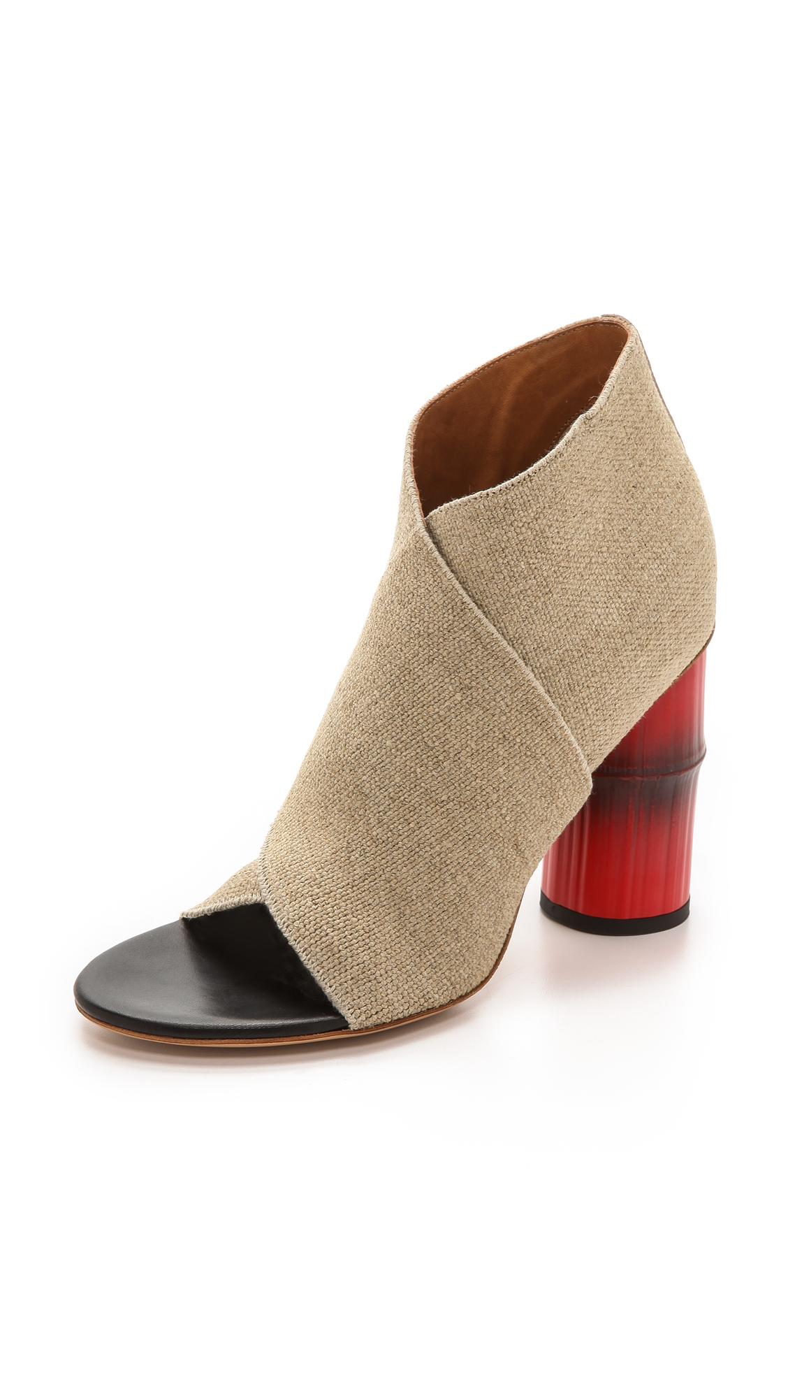 Acne studios roza linen sandals
