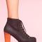Lita platform boot - black  in  shoes at nasty gal
