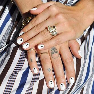 nail polish nail accessories nail art nails nail stickers white nails