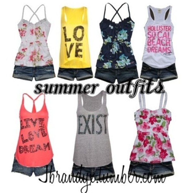 tank top summer yellow floral graphic tank top summer outfits summer top