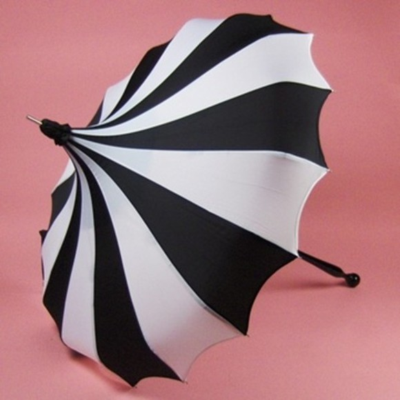 jewels accessory vintage goth gothic lolita umbrella cliche gothic goth hipster black and white stripes striped black and white stripes