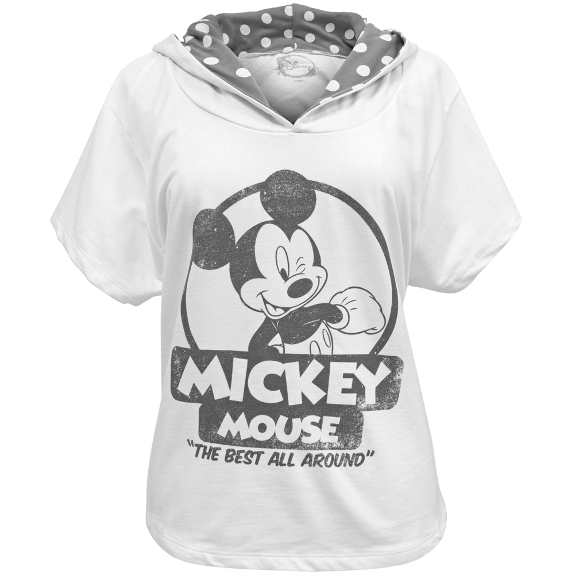 Mickey Mouse The Best Juniors Hooded T Shirt | eBay