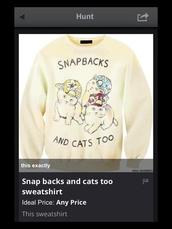 jacket,snap backs and cats too