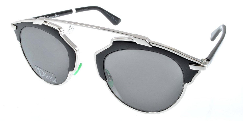 3010522e10 Dior Women s Dior So Real Palladium   Black Frame Grey Lens Metal Sunglasses   Christian Dior  ...