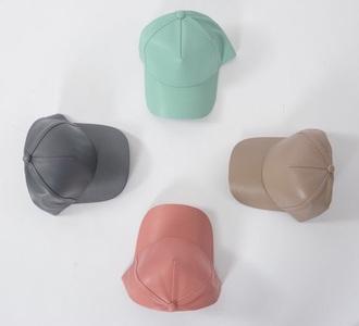 hat baseball cap metallic silver mint nude vue boutique metallic gold grey