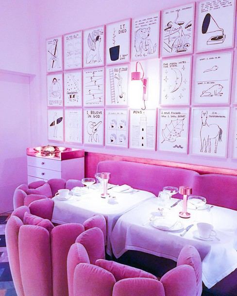 All Pink Everything: Home Accessory, Travel, Pink, All Pink Everything, Sofa