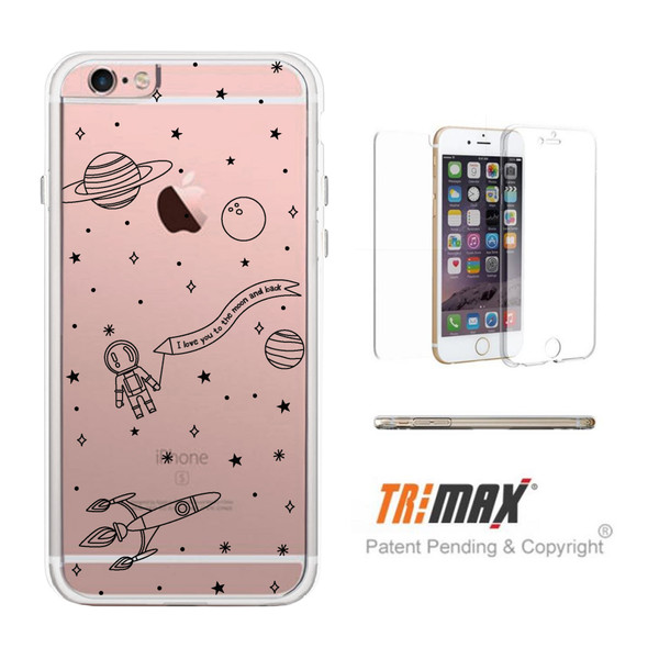 phone cover cute pattern iphone clear case phone protector fancy case gift ideas