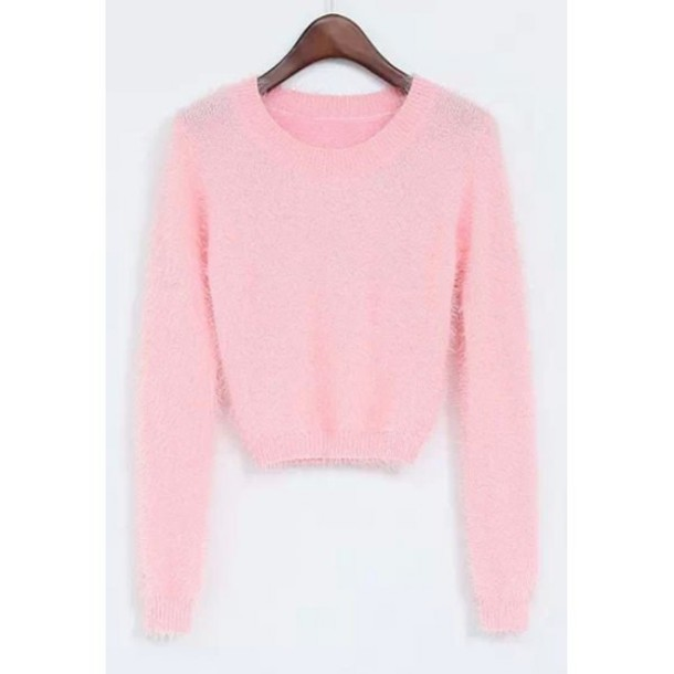 Cute Crop Top Sweaters