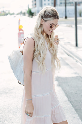 a little dash of darling blogger summer beauty blonde hair wavy hair