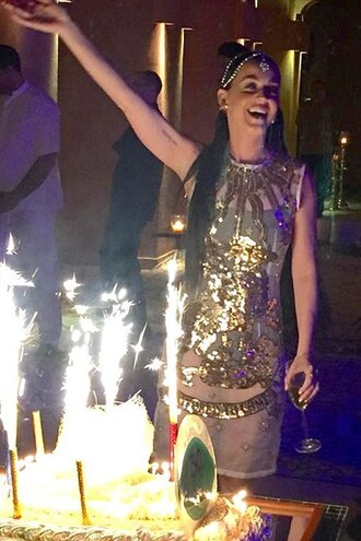 dress sequin dress sequins sparkly katy perry party dress