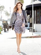 jacket,dress,shoes,jamie chung
