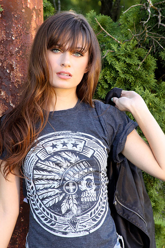 The tribal seal  tshirt by strawcastle on etsy