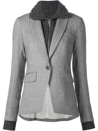 blazer grey jacket