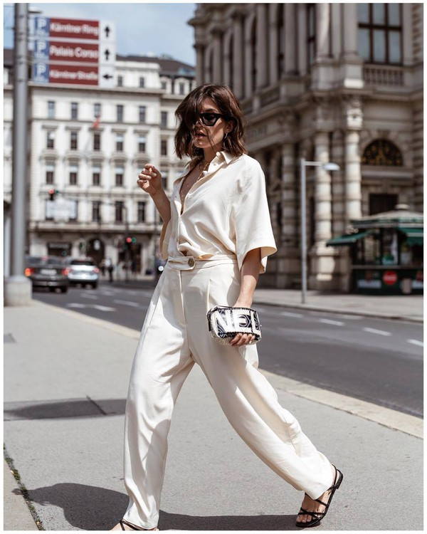 shoes sandals flat sandals strappy sandals pants top shirt silk pants silk skirt white sunglasses