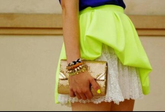 skirt yellow skirt yellow