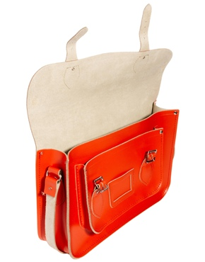Cambridge Satchel Company | Cambridge Satchel Exclusive to ASOS Tomato Red Leather 14