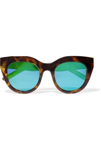 heart sunglasses mirrored sunglasses