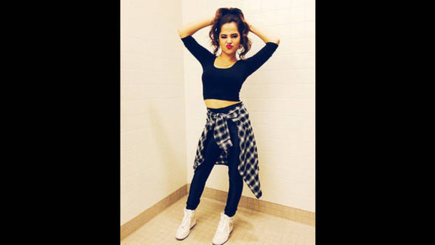 becky g flannel shirt shoes wedge sneakers white sneakers