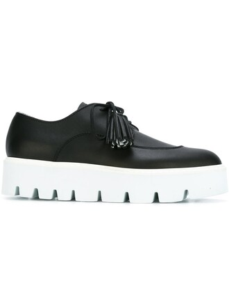 shoes lace-up shoes lace black