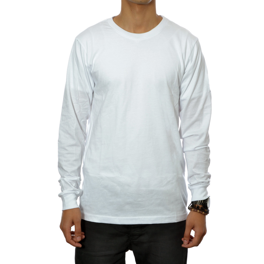 Sleeve zip tee (white)