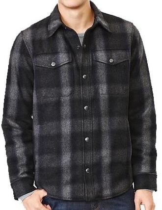 jacket plaid wool mens jacket wool jacket plaid jacket gap