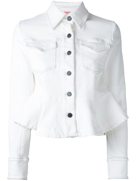 Manning Cartell jacket women spandex white cotton