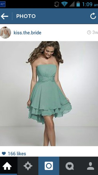 dress turquoise dress