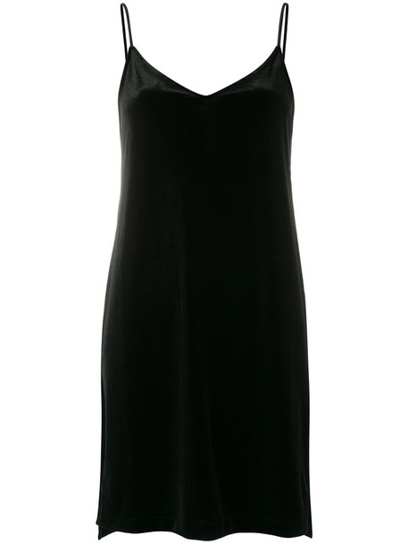 dress women spandex black