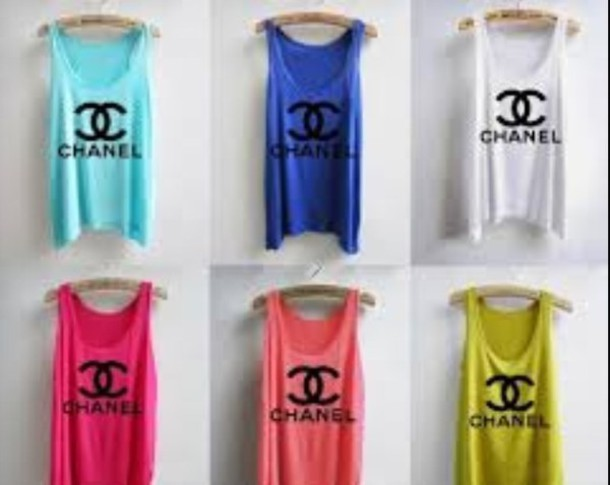 tank top chanel