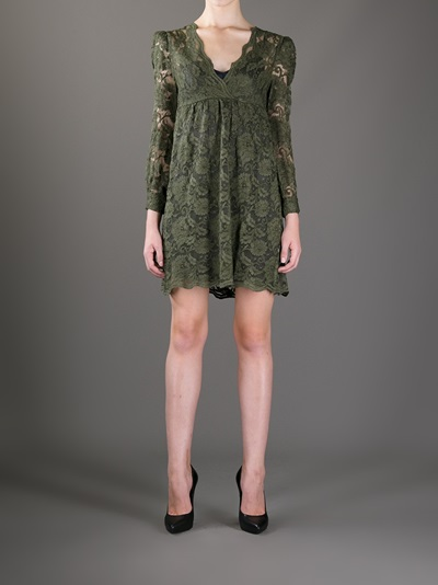 Erika Cavallini Semi Couture Floral Lace Dress - Gaudenzi - Farfetch.com