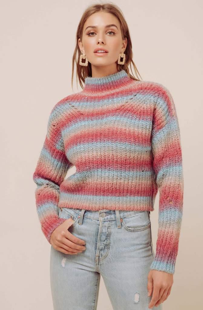 Carly Striped Sweater