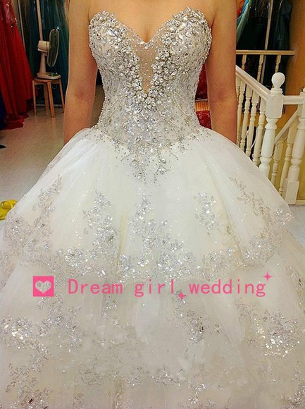 ball gown prom dress wedding dress ball gown wedding dresses wedding events bridal ball gown heavy beaded long wedding dress bridal gowns evening dress sweetheart dresses beading wedding dresses pleated dress long prom dress