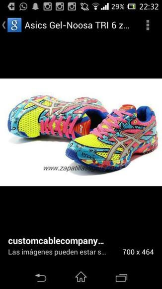trainers asics triathlon colors cool