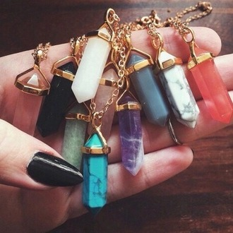 jewels style stone necklaces precious stone golden