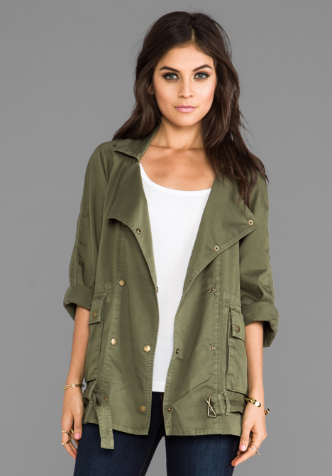 CURRENT/ELLIOTT Infantry Jacket in Army at Revolve Clothing - Free Shipping!