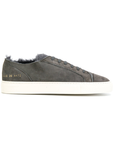 Common Projects women sneakers grey shoes
