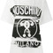 Moschino - question mark print t-shirt - women - cotton - l, white, cotton