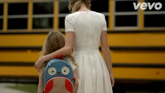 taylor swift white dress backpack
