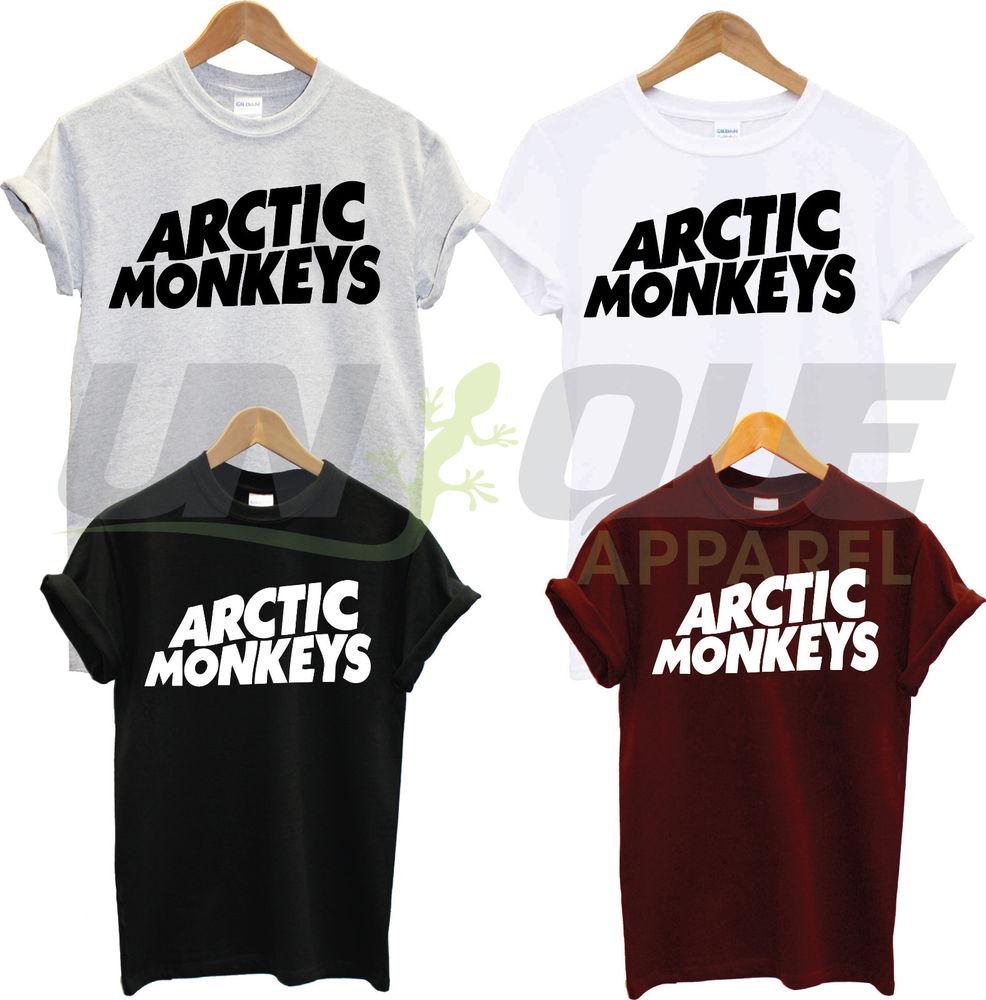 ARCTIC MONKEYS T SHIRT TOP TEE TSHIRT BAND MUSIC CONCERT TOUR GROUP ROCK PUNK
