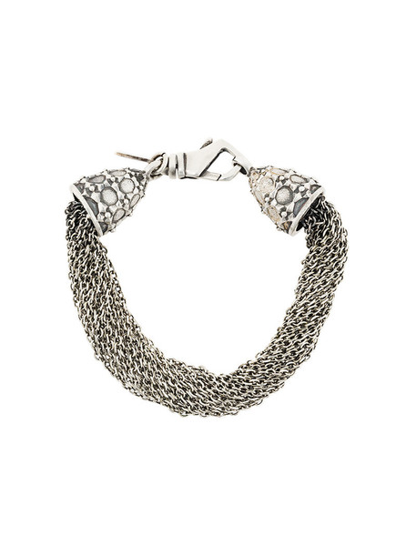 EMANUELE BICOCCHI women silver grey metallic jewels