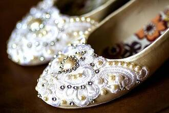 shoes bridal flats wedding shoes wedding flats lace rhinestoness wedding flats pearl embroidered