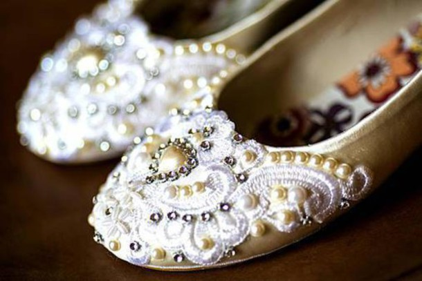 shoes bridal flats wedding shoes wedding flats lace rhinestoness wedding flats wedding shoes pearl embroidered