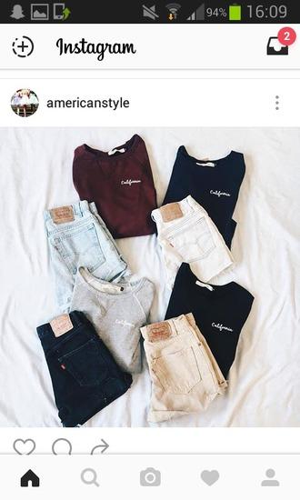 shirt t-shirt california shorts black denim shorts high waisted shorts white bottoms