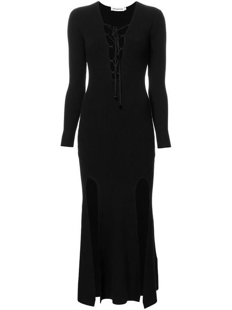 self-portrait dress knitted dress women spandex lace black